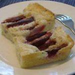 easy coffeecake, plum kuchen