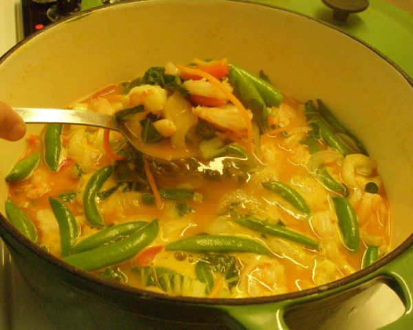 Thai Curry--Perfect Plate Fung Shui - Cheater Chef