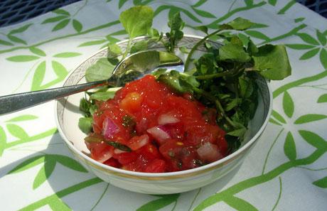 pico aspic, tomato aspic, tomato gelatin