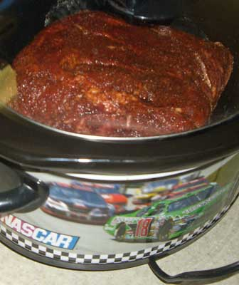 crock-pot pork barbecue