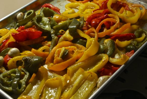 Oven Roasted Peppers. They Go With Everything. - Cheater Chef