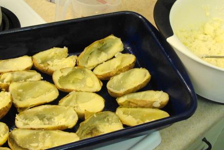 twice baked potaotes