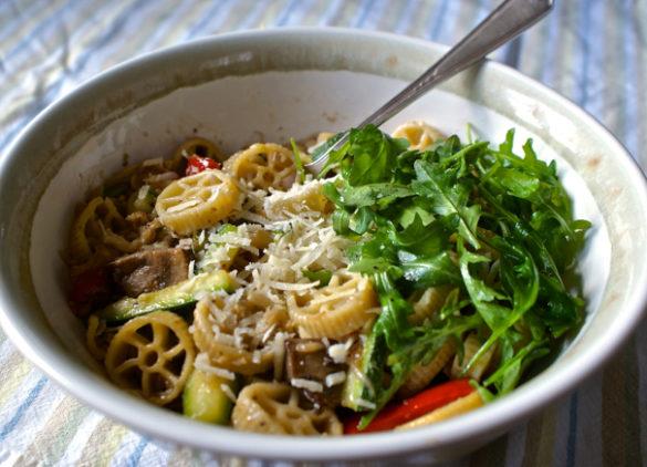 how to make cauliflower pasta sauce