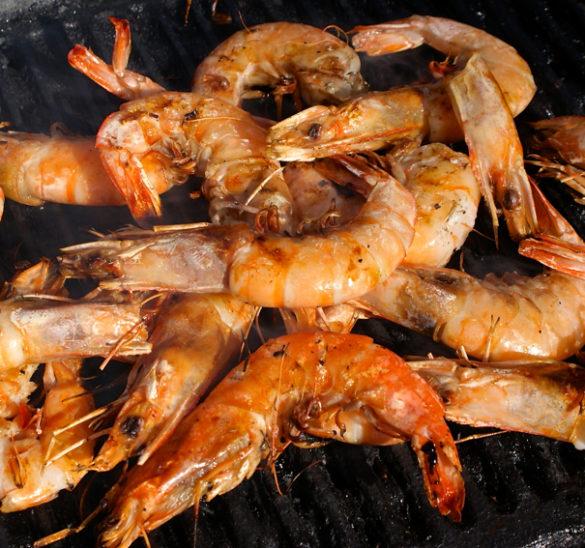 easy grilled shrimp