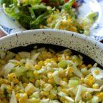 Fresh Corn Cucumber Salad