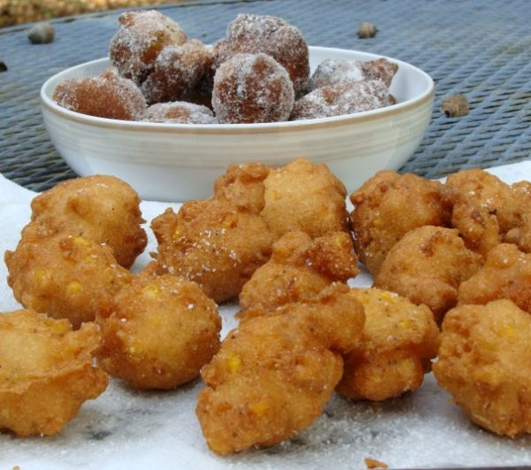Clam Fritter And Clam Cake
