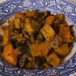 Winter Squash with Mushrooms and Onions Duxelles