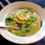 White Bean Escarole Soup