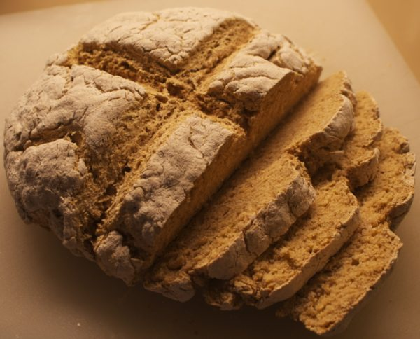 As free form as it gets — Irish Soda Bread with the helpful control ...