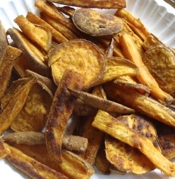 Spicey Oven Sweet Potato Fries