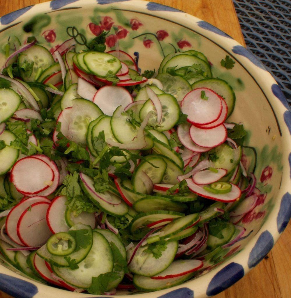 Mexi Cuke Salad