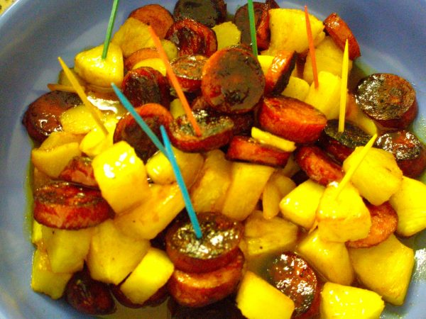 Kielbasa Pineapple