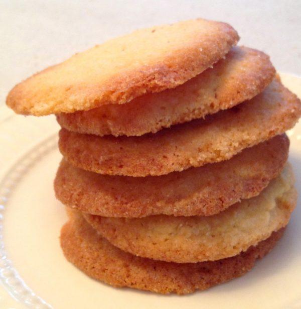 Nashville Cornmeal Cookies - Cheater Chef