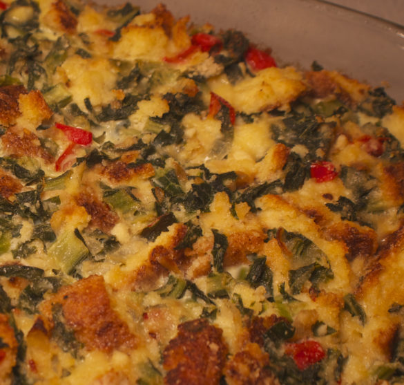 how to make cornbread pudding
