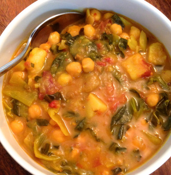 how to make vegetable curry