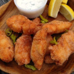 Hot Catfish with Dill Pickle Ranch