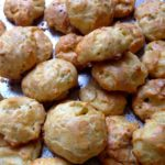 Green Chile Gougeres