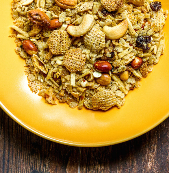 indian chex mix