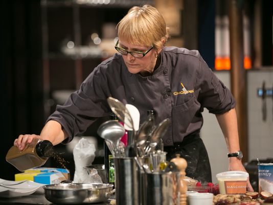 Chef Mindy Competes on CHOPPED tonight!