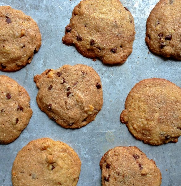 no mixer chocolate chip cookies