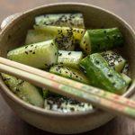 Sesame Cucumbers