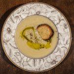 Cauliflower Potato Leek Soup