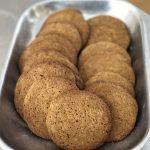 molasses cornmeal cookies
