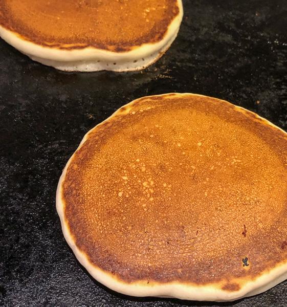 pancakes with self-rising flour